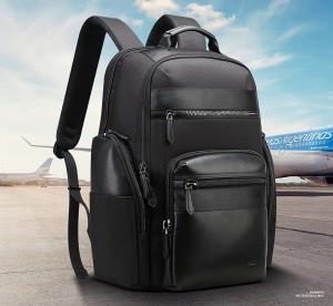 Мужской дорожный рюкзак BOPAI 851-014211 черный главное фото