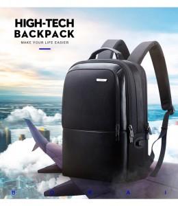 Рюкзак для ноутбука 15 с USB BOPAI 851-025811 идеален для перелетов