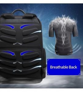 Рюкзак для ноутбука 15 с USB BOPAI 851-025811 дышащая спинка рюкзака