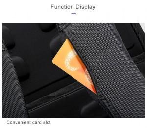 Рюкзак для ноутбука 15 с USB BOPAI 851-025811 слот для карт