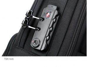Рюкзак с кодовым замком BOPAI 61-02511 черный фото кодового замка