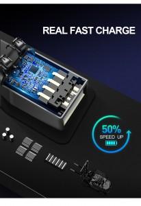Рюкзак антивор для ноутбука 15.6 BOPAI 61-02511 черный новое поколение USB разъемов, быстрая зарядка
