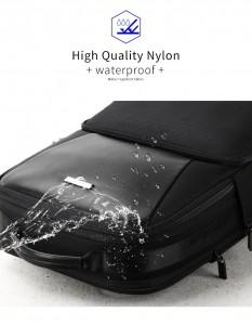 Рюкзак антивор для ноутбука 15.6 BOPAI 61-02511 черный не боится воды