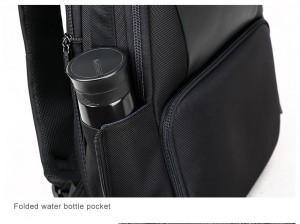 Рюкзак антивор для ноутбука 15.6 BOPAI 61-02511 черный фото бокового кармана для зонта/напитков