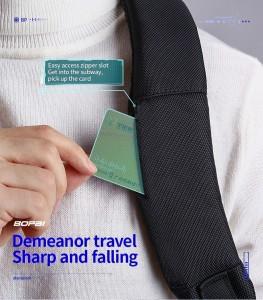 Рюкзак для ноутбука 15.6 BOPAI 61-26111 кармашек для транспортных карт