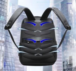 Рюкзак для ноутбука 15.6 BOPAI61-53111 черный дышащая спинка рюкзака
