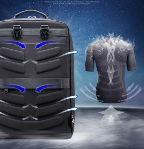 Деловой рюкзак 2-в-1 для ноутбука 15.6 BOPAIдышащая спинка рюкзака