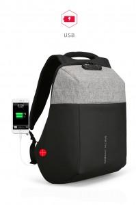 Рюкзак антивор Mark Ryden MR6768 потайной карман с USB разъемом