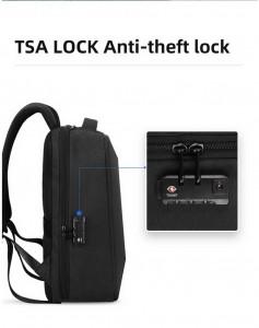 Рюкзак с кодовым замком TSA Mark Ryden MR9405YY черный надежен