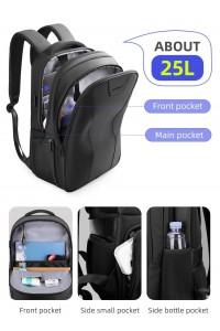 Рюкзак для ноутбука 15,6 с USB Mark Ryden MR9508 черный вместительный и современный
