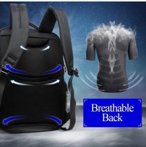 Рюкзак дорожный для ноутбука 15.6 BOPAI 11-85301 черный дышащая спинка рюкзака