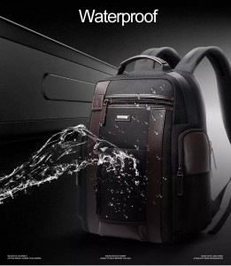 Рюкзак дорожный мужской BOPAI 751-006751 черный водонепроницаемая ткань