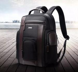 Рюкзак дорожный мужской BOPAI 751-006751 черный идеален для путешествий