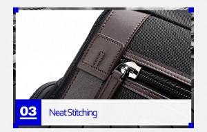 Рюкзак дорожный мужской BOPAI 751-006751 черный фото кармана спереди