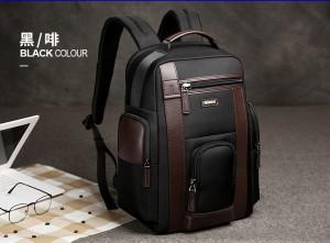 Рюкзак дорожный мужской BOPAI 751-006751 черный фото в интерьере