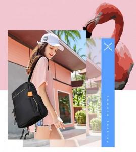 Рюкзак женский ждя ноутбука BOPAI 62-00121 демонстрирует модель