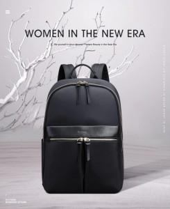Женский рюкзак для ноутбука 14 BOPAI 62-16921 черный фото2 в интерьере