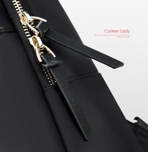 Женский рюкзак для ноутбука 14 BOPAI 62-16921 черный двойные замки