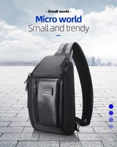 Сумка-рюкзак одно-двухлямочная BOPAI 11-25911 черная