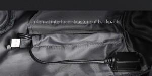 Нагрудная мужская сумка Mark Ryden MR7116 USB разъем