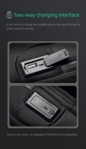 Рюкзак однолямочный Mark Ryden MR7116 USB разъем с заслонкой