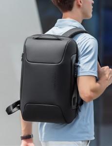 Рюкзак антивор для ноутбука 15,6 Mark Ryden MR9116 черный фото на модели