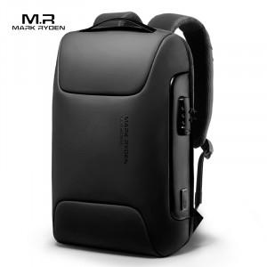 Рюкзак антивор для ноутбука 15,6 Mark Ryden MR9116 черный фото спереди
