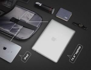 Рюкзак антивор для ноутбука 15,6 Mark Ryden MR9116 черный карманы для гаджетов