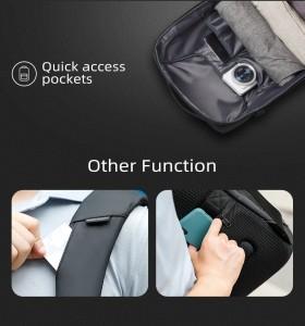 Рюкзак антивор для ноутбука 15,6 Mark Ryden MR9116 черный детали