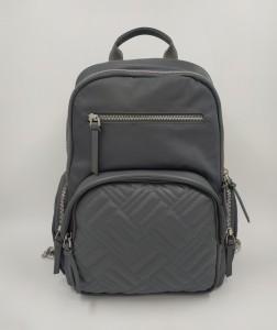 Женский рюкзак для ноутбука 13 BOPAI 62-50258 серый фото спереди