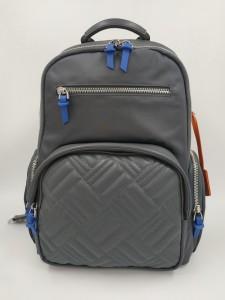 Женский рюкзак для ноутбука 13 BOPAI 62-50258 серый с синими бирками
