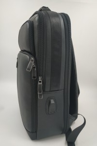 Бизнес рюкзак для ноутбука 15.6 BOPAI 851-036611 черный фото вполоборота