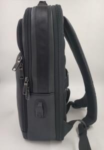 Бизнес рюкзак для ноутбука 15.6 BOPAI 851-036611 черный фото 2 сбоку