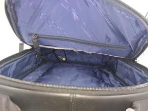 Бизнес рюкзак для ноутбука 15.6 BOPAI 851-036611 черный фото 2 основное отделение