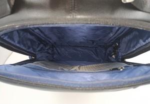 Рюкзак для ноутбука 15.6 BOPAI 851-036511 черный фото 2 основное отделение