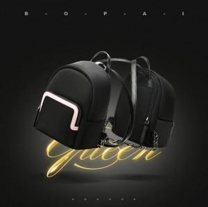 Мини рюкзак женский BOPAI 62-19631 черный мода 2020 - 2021