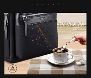 Женский деловой рюкзак для ноутбука 14 BOPAI 62-17721 материал не впитывает воду и не боится загрязнений