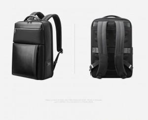 Рюкзак для ноутбука 15.6 BOPAI61-67111 черный фото сбоку, сзади