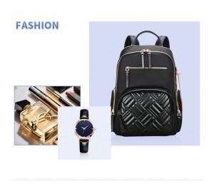 Рюкзак женский деловой для ноутбука 13 дюймов BOPAI 62-50251 черный мода 2020-2021