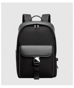 Мужской бизнес рюкзак BOPAI 61-02011 черный фото спереди