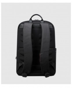 Мужской бизнес рюкзак BOPAI 61-02011 черный фото сзади