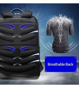 Рюкзак для ноутбука 15.6 BOPAI61-02011 дышащая спинка рюкзака с 9 ребрами жесткости
