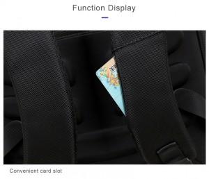 Рюкзак для ноутбука 15.6 BOPAI61-02011 слот для транспортных карт в лямке рюкзака