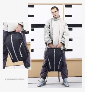 Рюкзак молодежный Bopai 961-02011черный
