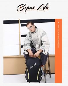 Молодежный рюкзак для ноутбука 15,6 Bopai Life 961-01911 в руках мужчины
