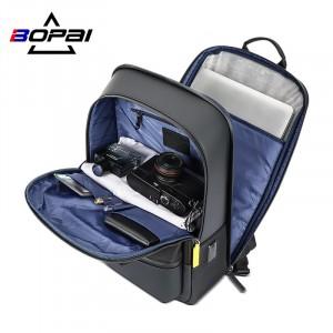 Мужской деловой рюкзак Bopai 61-58911 фото основного отделения
