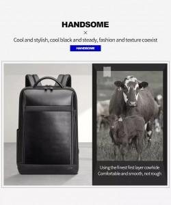 Кожаный мужской рюкзак BOPAI Bopai 61-67011 из коровьей кожи