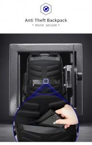 Бизнес рюкзак Bopai 61-67011 карман-антивор