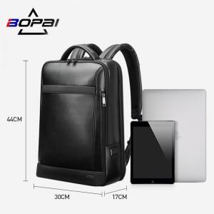 Бизнес рюкзак для ноутбука 15.6 BOPAI 61-67011 черныйпо сравнению с ноутбуком