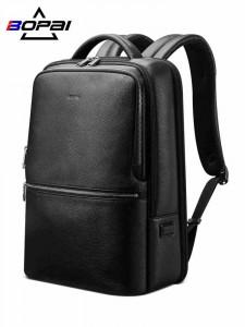 Кожаный рюкзак для ноутбука 15,6 Bopai 61-69711